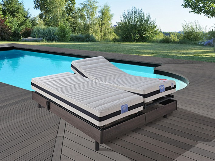 Matelas relevable AIR TOP DUO