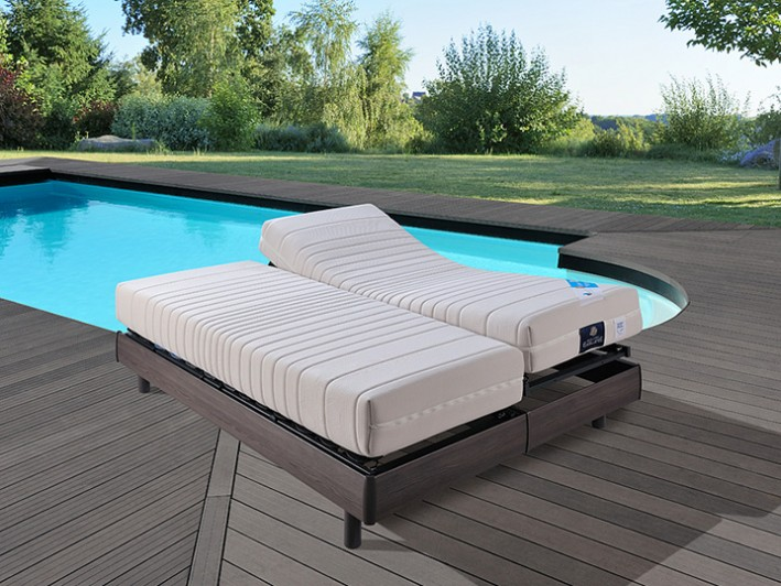 Matelas relevable CLIMAX 1 DUO
